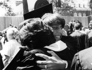 1985 Commencement Hug.jpg