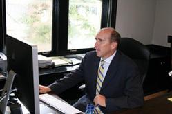 Brian Casey Office Aug 2008 BG.jpg