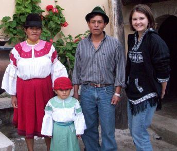 Jenna Buehler w Family 2008 Ecuador.jpg