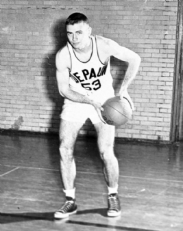 Lee Hamilton Basketball DePauw