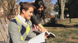 DePauw Monon Spot   Studying East College Lawn