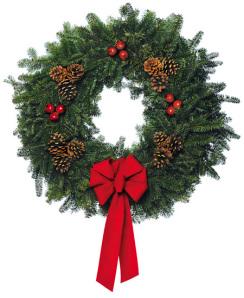 Holiday Wreath 010