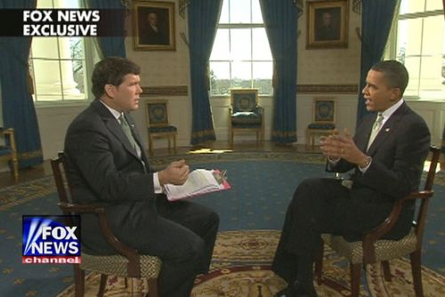 Bret Baier Barack Obama Mar2010