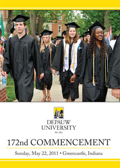 2011 Commencement DVD Jacket