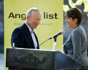 Mitch Daniels Angie Hicks Aug2011