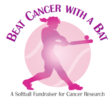 BEAT CANCER WITH A BAT LOGO
